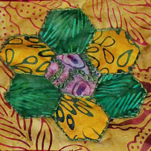 Sharons Gift - Green Flower