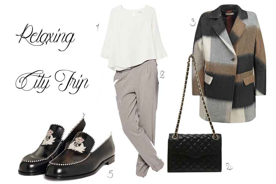 Outfit tip relaxing city trip travel look berlin frankfurt fashionblogger casual städtereise