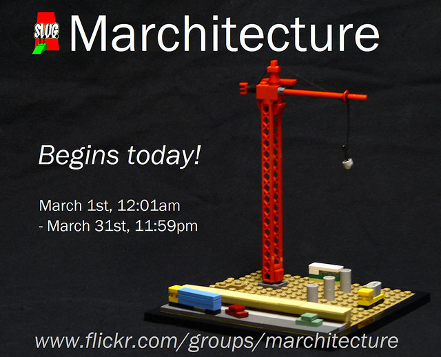 Marchitecture begins!