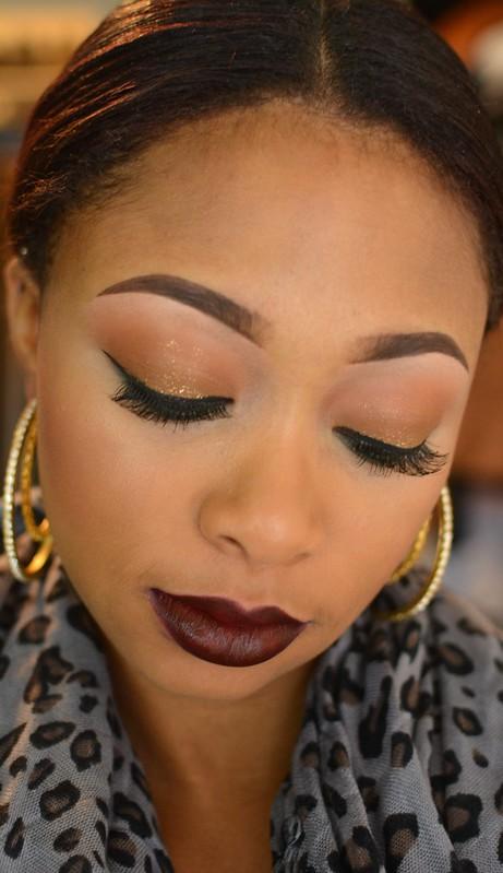bridal makeup with glitter louisiana makeup