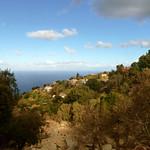 Ikaria's remotest hinterland 03 - Vrakades view