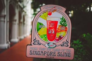 Celebrating more than 100 years of the Singapore Sling