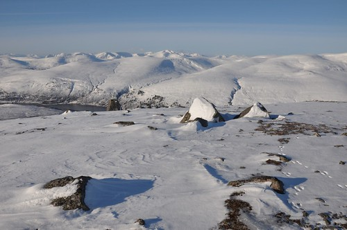 Fannichs from Meall a' Ghrianain