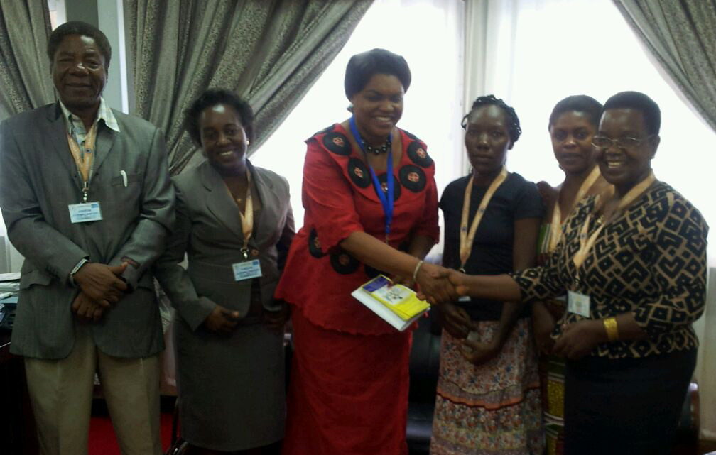 2016-2-5 Tanzania: IDWF organized a lobbying meeting to the Minister of State