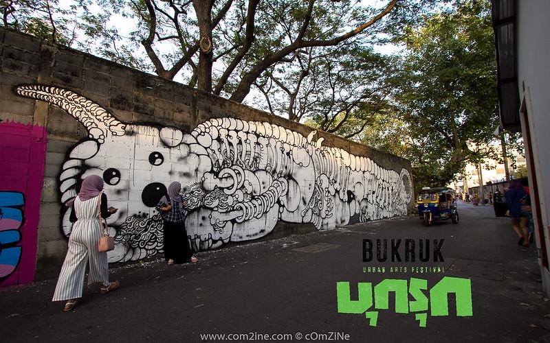 BukRuk Urban Street Festival - บุกรุก สตรีทอาร์ต กรุงเทพฯ