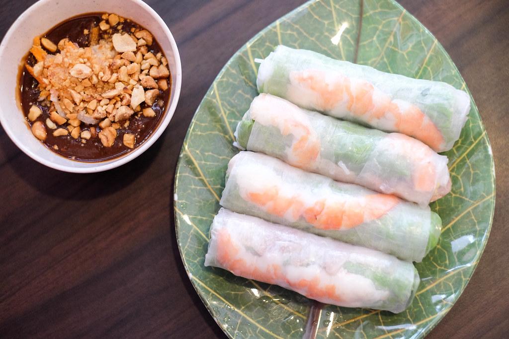 龙凤越南餐厅:Goi Cuon(越南春卷)
