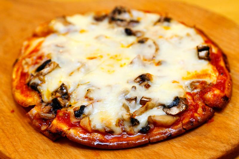 Livello Uno Mushroom Pizza