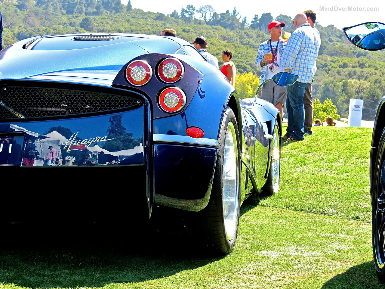 Pagani Huayra Blue Carbon The Quail 8