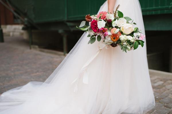 Celine Kim Photography AM Airship 37 distillery district romantic summer wedding-49