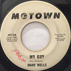 MARY WELLS:MY GUY(LABEL SIDE-A)