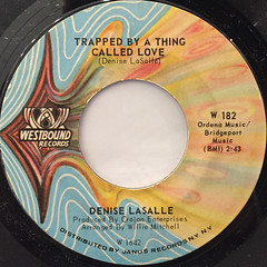 DENISE LASALLE:TRAPPED BY A THING CALLED LOVE(LABEL SIDE-A)