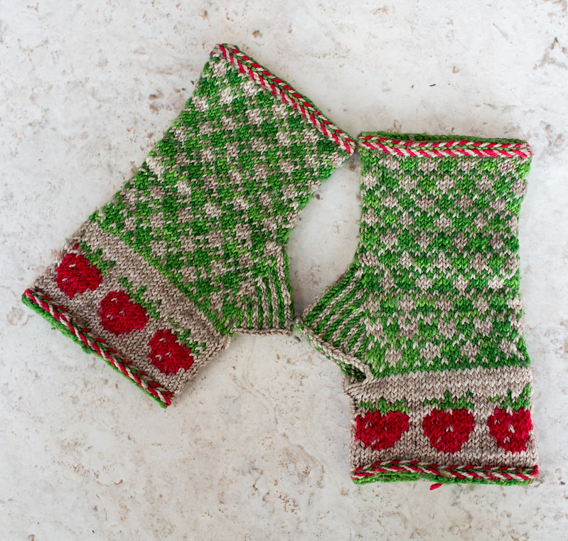 Strawberry Fields gloves