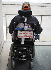 Jaime's Wheelchair With a Message