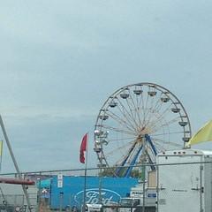 The festival itself looks like any tiny village fairgrounds