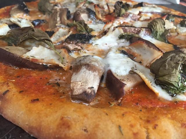 Portabella Turkey Pizza