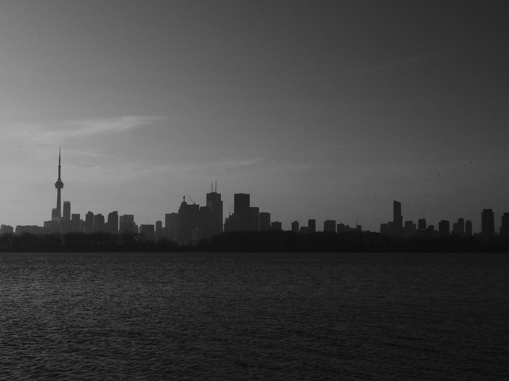 Skyline from Tommy Thompson Park