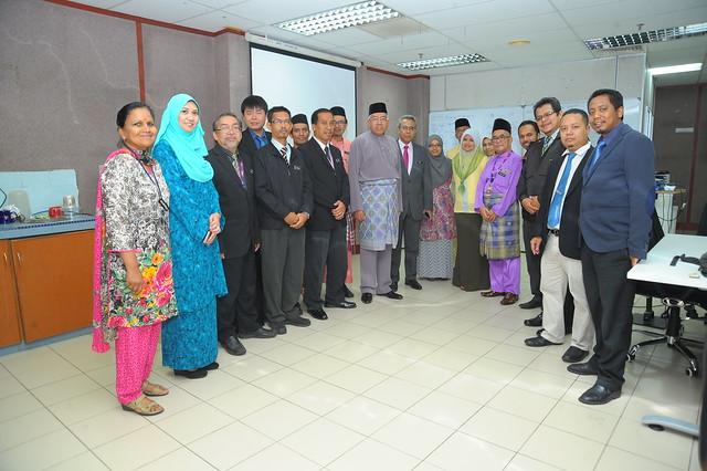 Lawatan Menteri Pendidikan ke BTP pada 2 Okt 2015