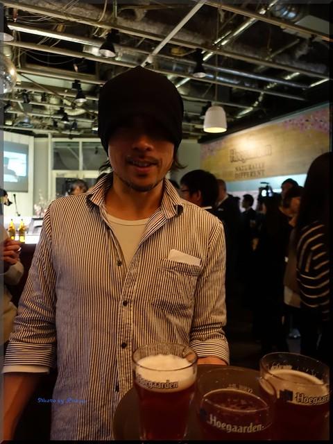 Photo:2016-03-24_T@ka.の食べ飲み歩きメモ(ブログ版)_ヒューガルデン花見カフェOPEN【原宿】cafe STUDIO_03 By:logtaka