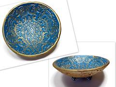 polymer clay Moroccan Wedding Ring Dish