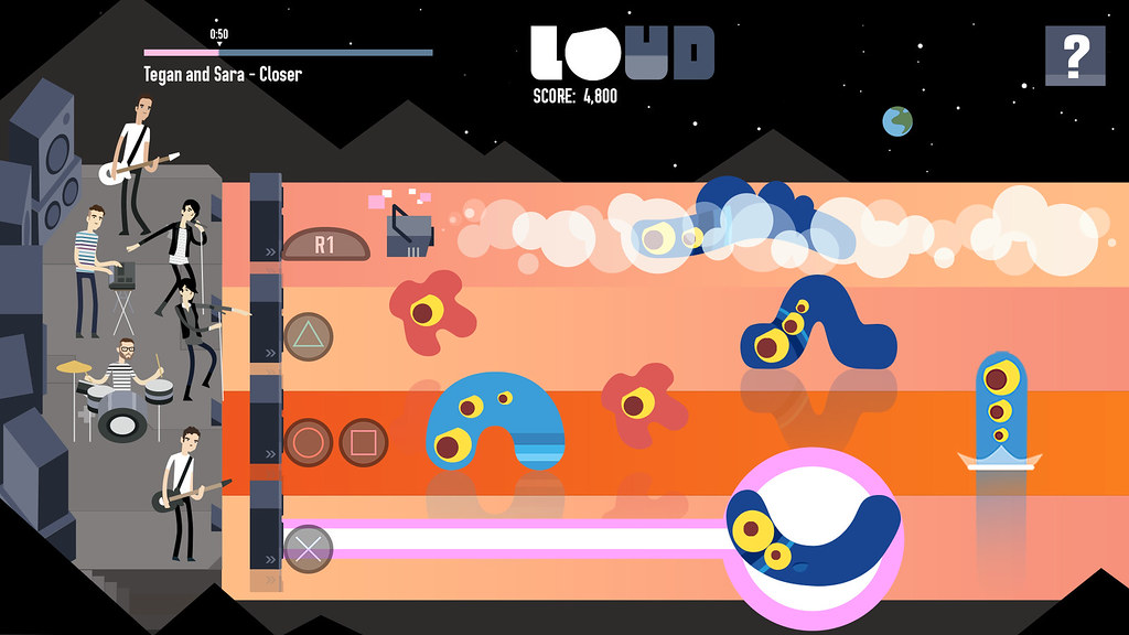 LOUD on Planet X on PS4