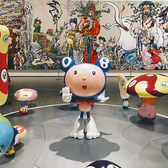 Murakami world is wild & free. #takashimurakami #latergram