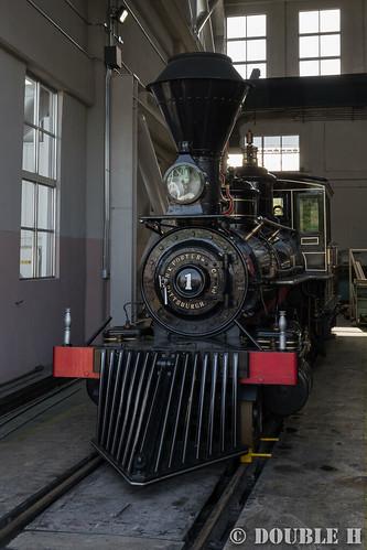 """Umekoji Steam Locomotive Shed (8) 7100-7105 """"Yoshitsune"""""""