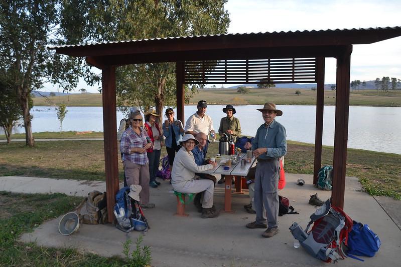 Mannus Lake late arvo tea