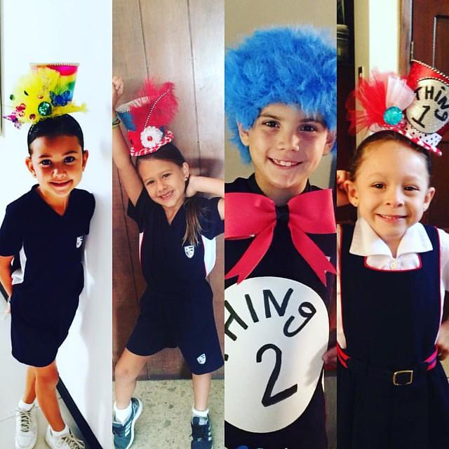 MARUJATZ KIDS ARE THE HAPPIEST 💕🎩👑 #marujatz #marujatzkids #marujatzguate #marujatzworldwide #drseuss #thing1 #happypeople #happykids #milliner #millinery