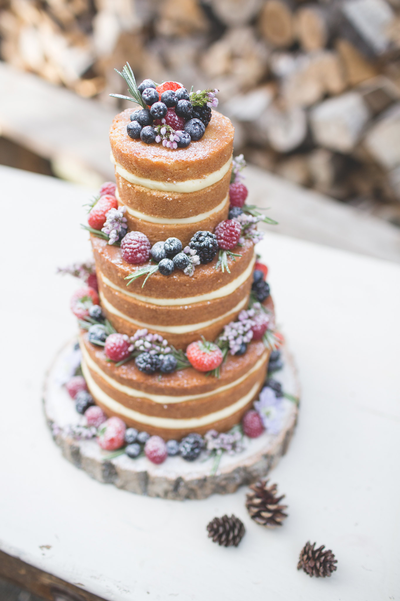 Taystful, nakedcake, weddingcake, naturalweddingcake, fruitweddingcake, wedding, krystelcouture,
