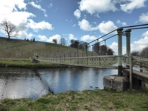 Suspension Bridge - River Wharfe
