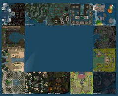 Fantasy Faire 2016 Regions Map