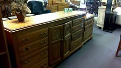 Pine dresser - $400
