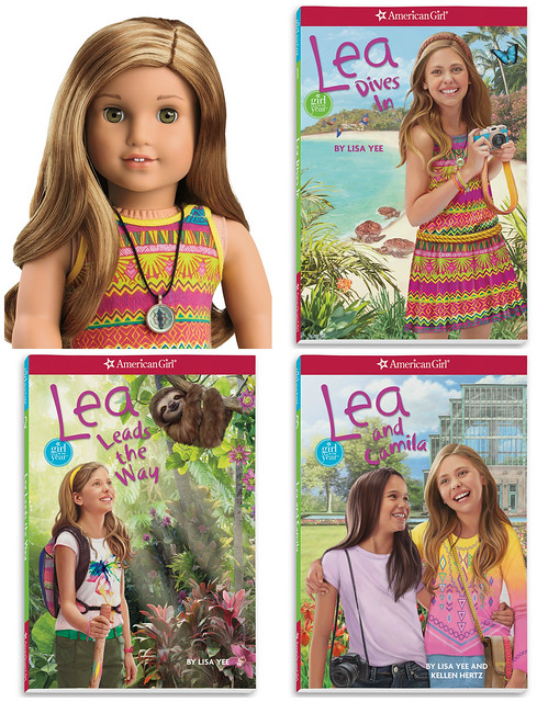 Lea Clark from American Girl book options