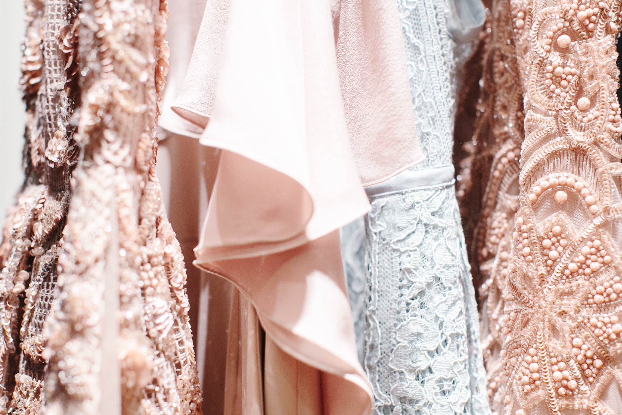 Behind the scenes for Elie Saab's Pre-Fall 2016 shoot
