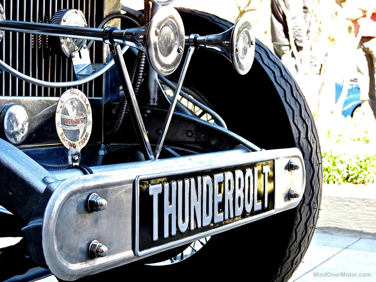 Rolls Royce Thunderbolt V12 Custom Amelia Island 15