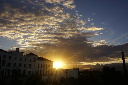 Sunset in Cayalá