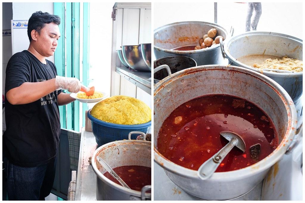 Makassar Food: Nasi Kuning Riburane