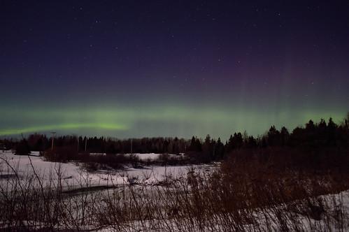Aurora Jan 21 2016 Miramichi NB Canada
