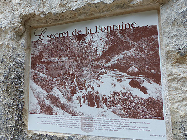 le secret de la fontaine