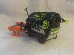 """lego  Blacktron  rover  """"Organa 5 trail"""""""