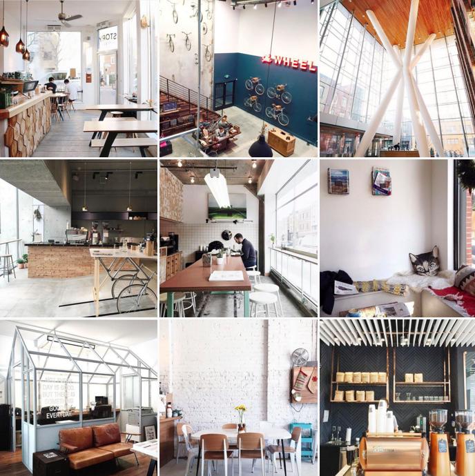 Coffee Shop Corners