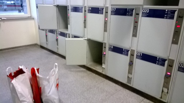 mannheim train staion lockers