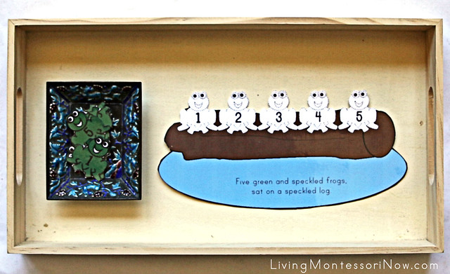 Five Green and Speckled Frogs Activity