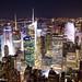 Rockefeller Center at night by Alberto M Quintana