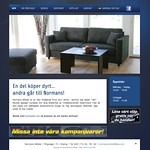 Hemsida Normans Möbler