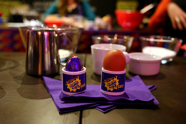Creme Egg Cafe, London (1)