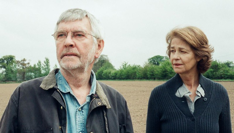 Tom Courtenay and Charlotte Rampling find their replationship unraveling after 45 YEARS.