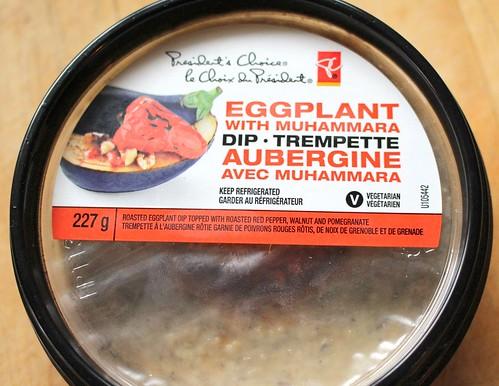 President's Choice Eggplant with Muhammara Dip
