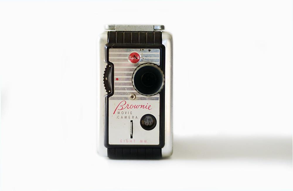 Vintage Brownie 8mm Movie Camera