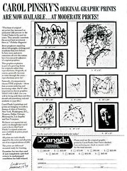 Pinsky_Carol_Ad_for_prints_Los_Angeles_Magazine_1974